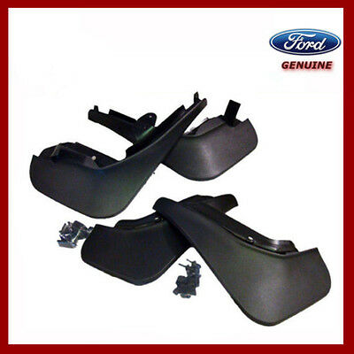 Genuine Ford Fiesta MK7 2008 - 2016 Front & Rear Mud Flaps / Guards. New.