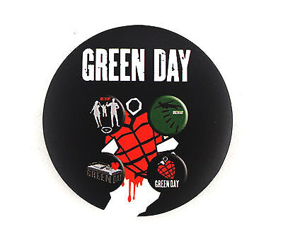 Green Day Music Band Song Rock Meatal Heavy Punk Logo Pin Pinbacks Badge Button
