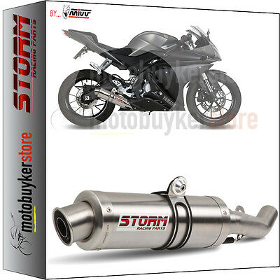 74.Y.047.LXS ESCAPE COMPLETO STORM by MIVV GP YAMAHA YZF R125 2014 14 2015 15
