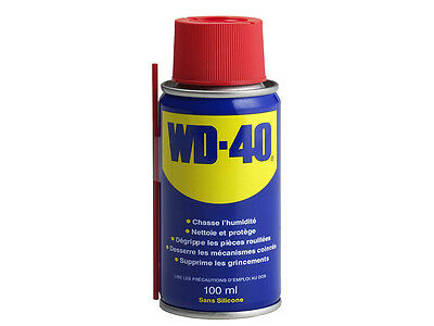 NEW WD 40 Aerosol Spray Oil Lubricant Rust Corrosion Protection Lube 100ml