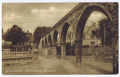 GLOUCESTER Infirmary Arches, Postcard by Frith No 29009