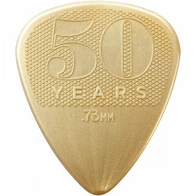 Jim Dunlop 50th Anniversary Nylon Guitar Pick Pack 12-Picks - .73mm Gauge NEW