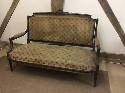 Stunning Antique Circa 1900 French Napolian Sofa