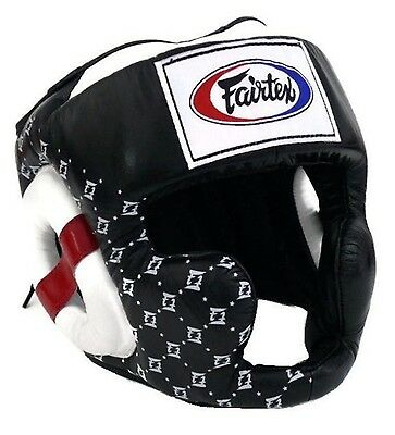 Fairtex 'Super Sparring'  Head Guard  HG10  Muay Thai MMA Martial Arts Boxing