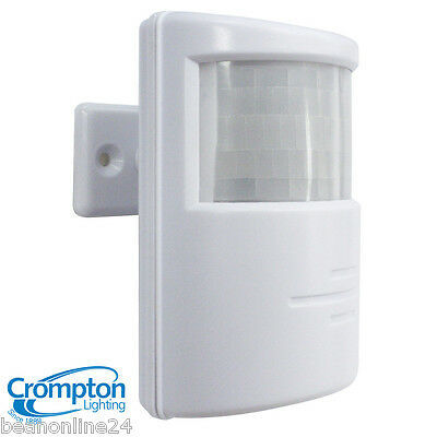 Crompton PIR Motion Sensor - for Outdoor Security Lights / Floodlights WHITE
