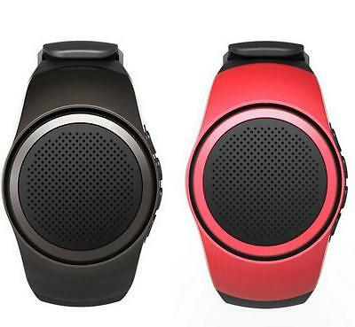 New Smart Wearable Phone Bluetooth Music Watches Stereo Portable Speaker