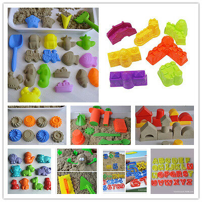 151 PCS Available Motion Sand Castle Model Beach Holiday Molds Toy kids noToxic