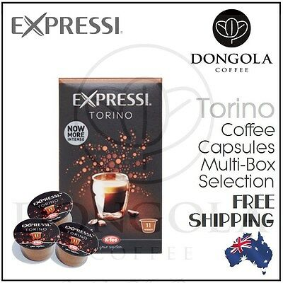 New TORINO Expressi Capsule Pods for Automatic Espresso Coffee Machines