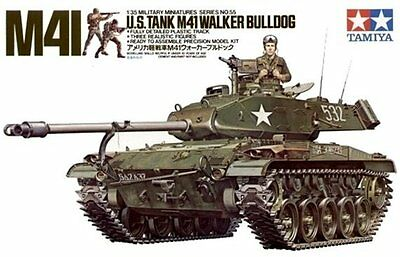 Tamiya 35055 1/35 Scale Military Model Kit US M41 Type Walker Bulldog Tank