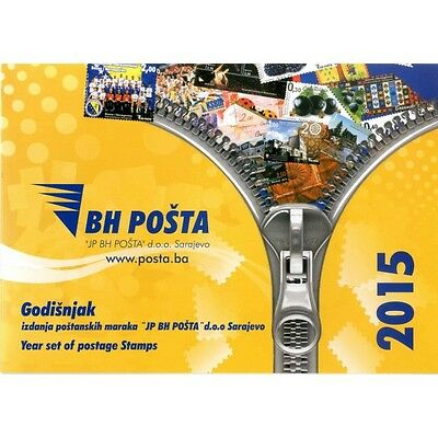 Year pack of postage stamps issued in 2015
