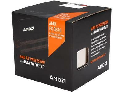 AMD FX-8370 with AMD Wraith Cooler Vishera 8-Core 4.0 GHz (4.3 GHz Turbo) Socket