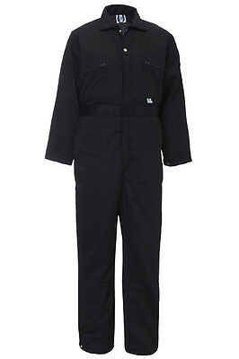 Padded Thermal Coverall Quilted Cold Weather Overalls Boilersuit Outdoor - 377