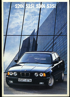 (84) CATALOGUE BMW 520i 525i 530i 535i