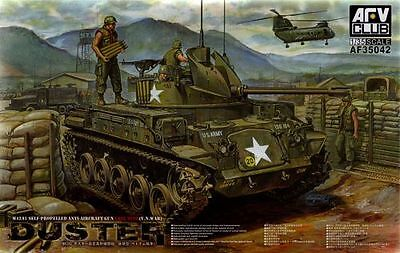Afv Club  Kit 1:35 Carro Armato M42A1 Late Type Duster V.n.war     Art Af35042