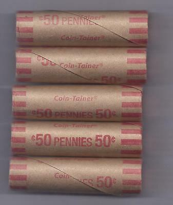 Roll of 2009 Lincoln Bicentennial Pennies P-Mint Presidency, Rarest Penny of Set