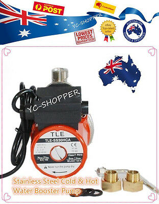 S. Steel Automatic Cold & Hot Water Pump - Booster Pressure Gravity Feed System