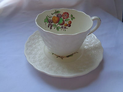 Copeland Spode England Alden Pattern S2280 Cup And Saucer