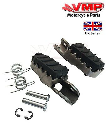New Rubber Left Right Front Riders Footrest Pegs for Superbyke RMR 125