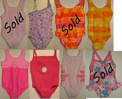 Little Girls & Babies Swimming Costumes Swimwear. Low Price with Free Postage.