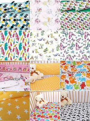 2 PCS BEDDING SET/PILLOW CASE/ DUVET COVER to fit TODDLER BED or COT BED 150x120
