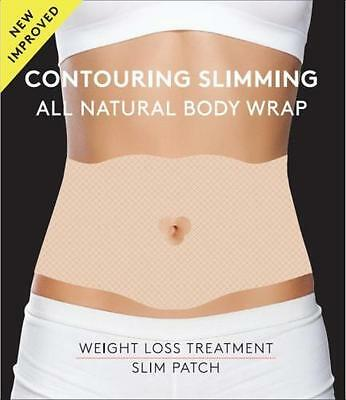 Contouring Slimming All Natural Body Wrap, it Works to Firm Tone Tighten 5 Wraps