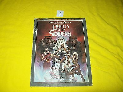 Gdq 1-7 Queen Of The Spiders Dungeons & Dragons Ad&d Supermodule Tsr 9179 1
