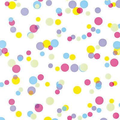 Confetti Wrapping paper, Counter roll, Gift wrap, 500mm x 50m