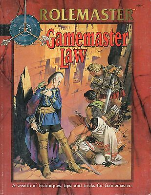 ROLEMASTER-Gamemaster Law-RPG-Roleplaying Game-(SC)-engl.-very rare
