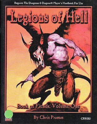 Dungeons & Dragons-Legions of Hell-Roleplaying Game-d20-(SC)-engl.-new-Rarität