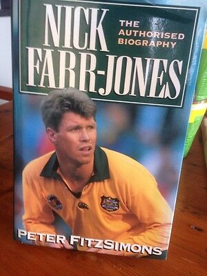 Nick Farr Jones Signed Book