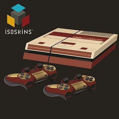 Isoskin® Famicom Family Computer Retro Console Playstation 4 (PS4) Skin Decal