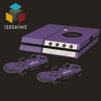Isoskin® Retro Gamecube Console Purple Playstation 4 (PS4) Skin Decal