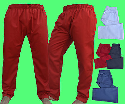 Excellent Quality Chef Trousers Pant with 3 Pockets available Different Colour.
