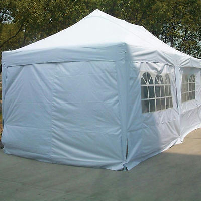 Quictent silver 6x3m Pop Up Gazebo Wedding Tent garden Canopy Marquee party room