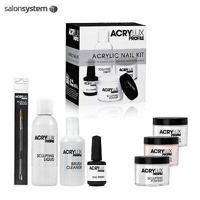 Salon System ACRYLUX Profile Acrylic Gel Nail Professional Nail Extension