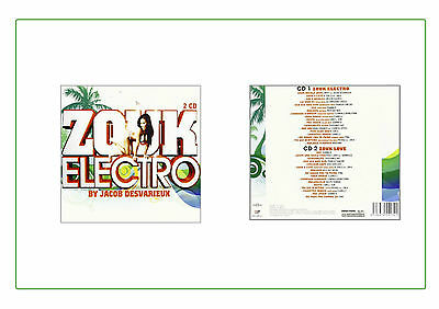 Zouk Electro 2 CD Elektronik Music Musica House Dance Music
