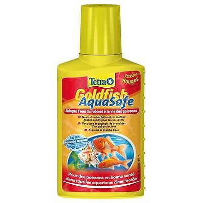 Conditionneur d'eau froide TETRA GOLDFISH AQUASAFE 250ML
