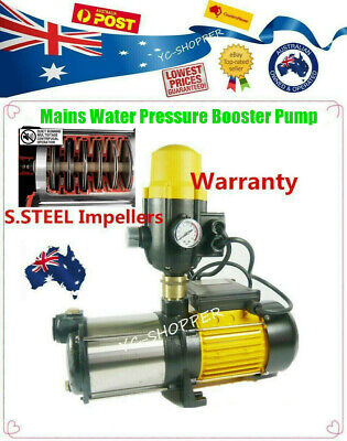 Domestic Household House Mains Water Pressure Booster Water Pump