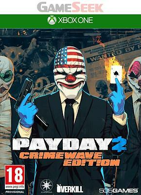 Payday 2 Crimewave Edition - Xbox One Brand New Free Delivery