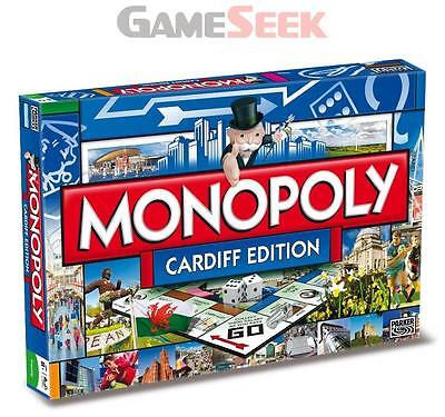 Cardiff Monopoly - Games/puzzles Board Games Brand New Free Delivery