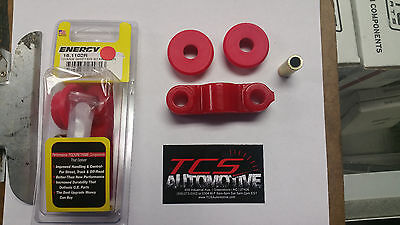 Energy Transmission Shifter Stabilizer Bushing Bushings Civic D15 D16 Red