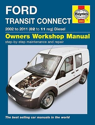 Haynes Ford Transit Connect Diesel 2002-11 Manual 4903 NEW