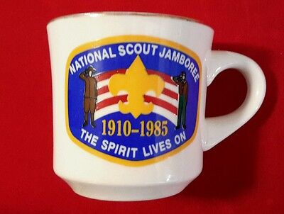 National Scout Jamboree The Spirit Lives On Coffee Cup 1985