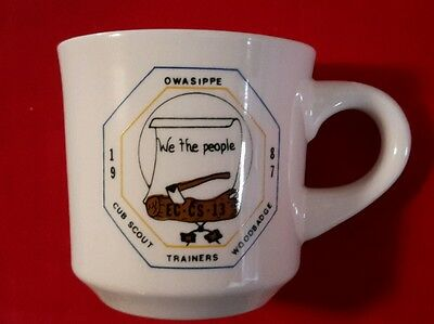 Owasippe 1987 Cub Scout Trainers Woodbadge We The People Cup