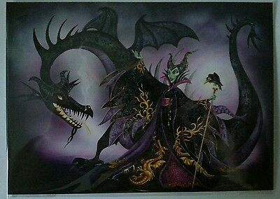 Disney Wonderground Gallery Maleficent All The Powers John Coulter Postcard