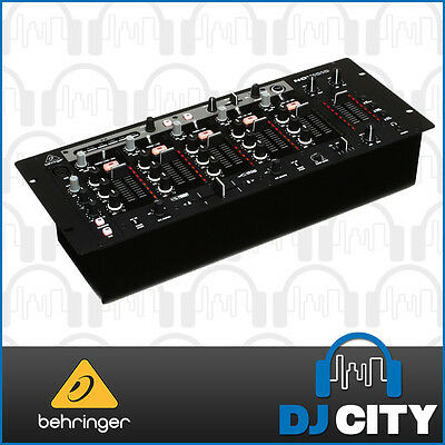 NOX1010 Behringer Pro 5 Channel DJ Mixer Beat-Syncable FX + USB/Audio Interface