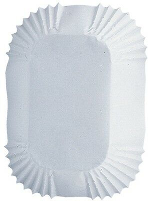 Baking Cups-White Petite Loaf 50/Pkg. Shipping is Free