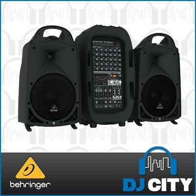 PPA2000BT Behringer Europort Portable PA System 2000Watt with Bluetooth - DJ ...