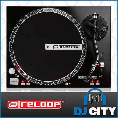 RP-4000M Reloop Direct Drive DJ Turntable with Reloop OM Black Cartridge
