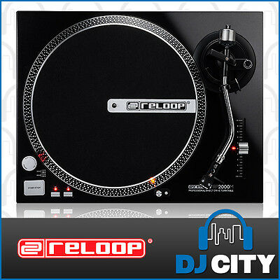 Reloop RP-2000M Direct Drive Turntable DJ Turntable Stylus & Cartridge Included